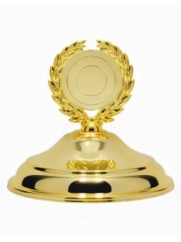 "X623A  Puchar "" PIŁKA SIATKOWA""  kolor srebrno-złoty - rozmiar  H-470mm R-160 mm (tab. 95x49 mm)"