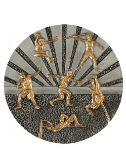 FGX1157  Statuetka odlewana seria X-ploid - tenis ziemny kobiet  R-155mm, H-200mm