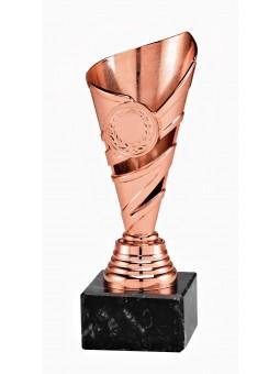 "X620C  Puchar ""VIKTORIA"" kolor złoty - rozmiar  H-300mm R-105 mm"
